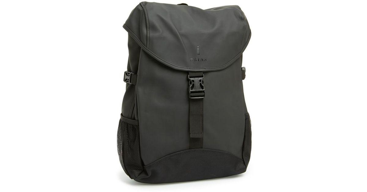 b3b680b209 Lyst - Rains  runner  Waterproof Backpack in Black for Men