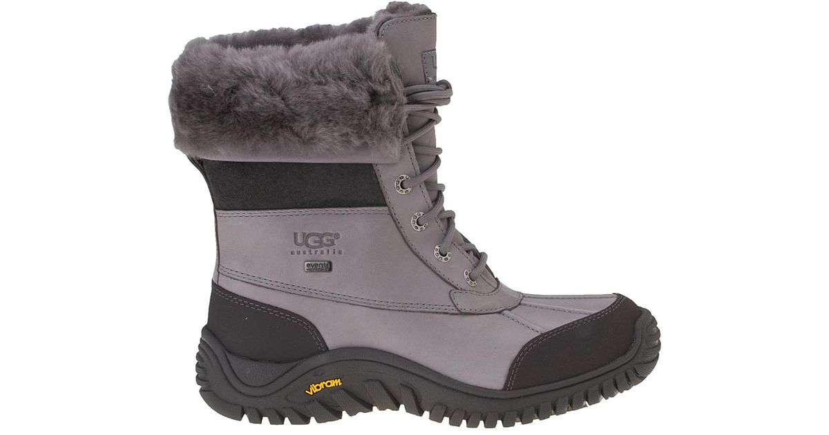 dc46513be0d UGG Gray Adirondack Ii Snow Boot Grey Leather
