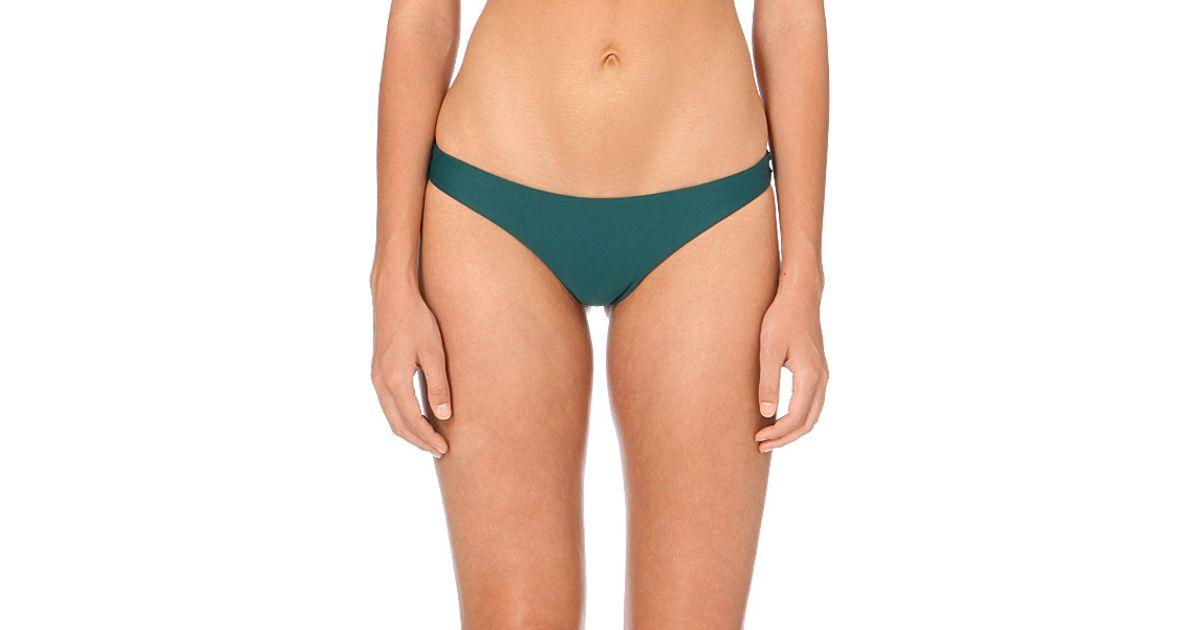 56c3cea0ea121 Mikoh Swimwear Lahaina Extra-skimpy Bikini Bottoms