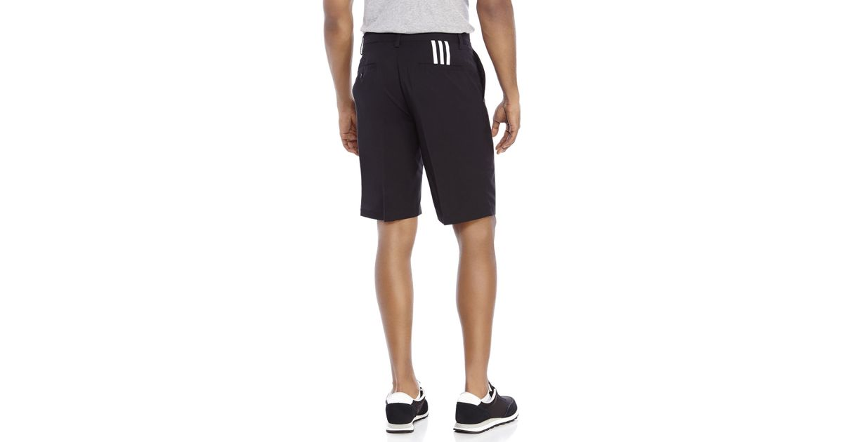 b68246d1d57d Lyst - adidas Climalite 3-Stripes Golf Shorts in Black for Men