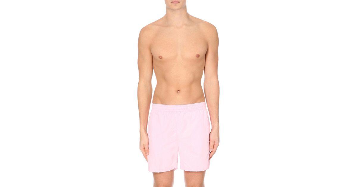 930602629c Lyst - Pink Pony Hawaiian Swim Shorts in Pink for Men
