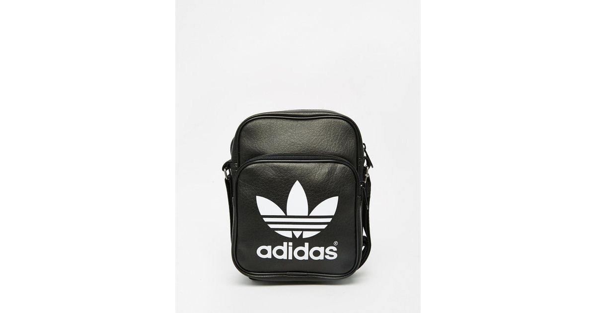 outlet store sale official hot new products Adidas Originals Black Classic Flight Bag Ab2734 for men