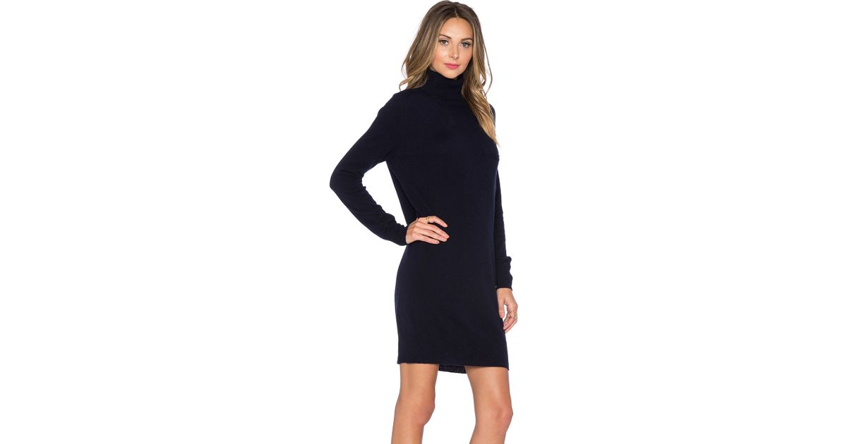 53ed3258ded Lyst - DEMYLEE Bianca Cashmere Sweater Dress in Blue