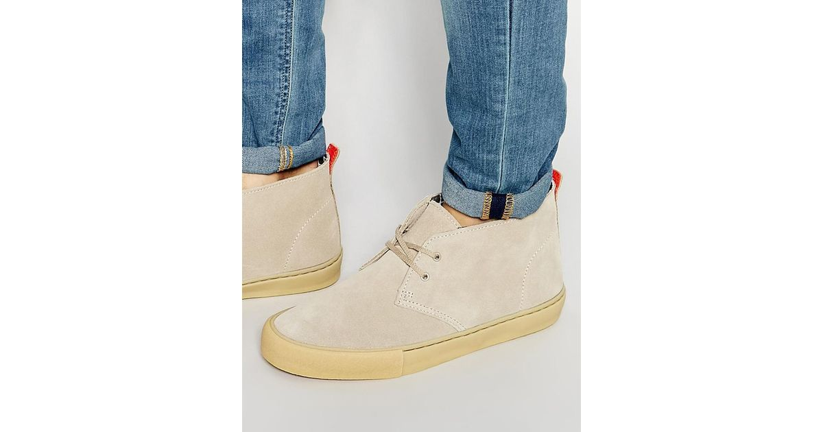 sold worldwide great quality innovative design Clarks Natural Clarks Original Desert Vulc Suede Boots - Beige for men