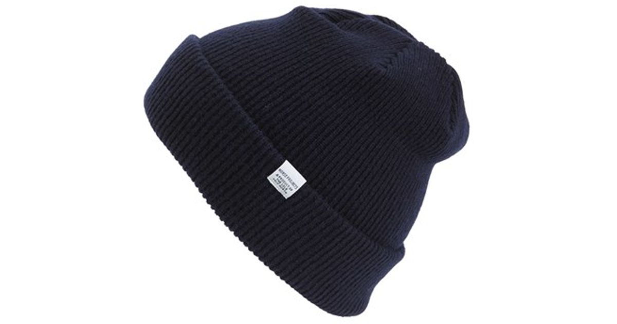5688f825e Norse Projects Blue Merino Wool Beanie for men