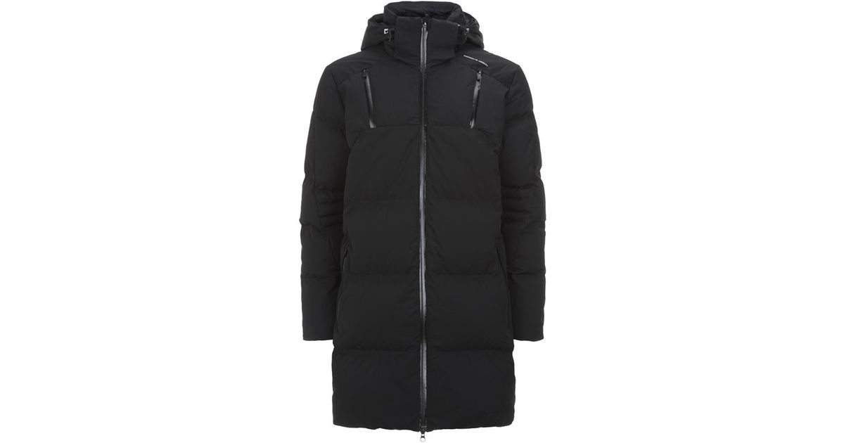 fc6cba6c6 Porsche Design Black Down Padded Winter Coat for men