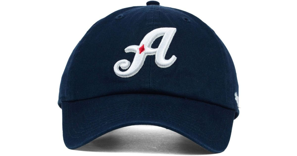 47 Brand Blue Reno Aces Clean Up Cap for men