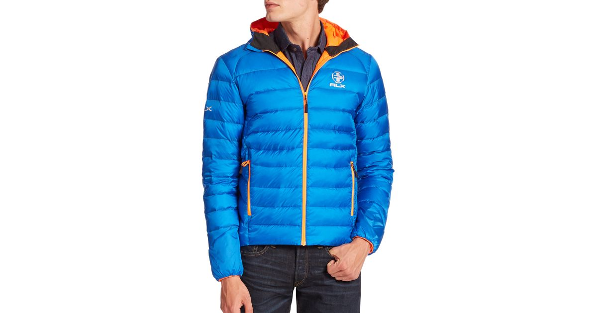 4cce9fe2c ... sweden lyst polo ralph lauren global explorer down jacket in blue for  men fa0e7 31a5c