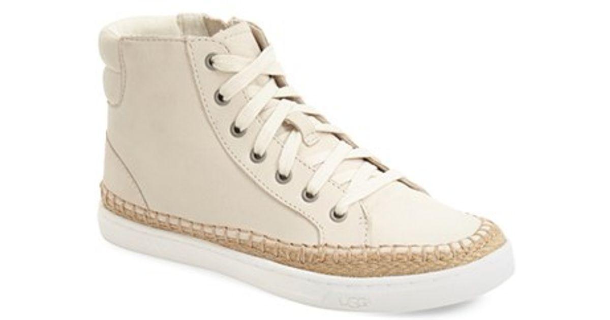 UGG Wool Gradie Leather High-Top