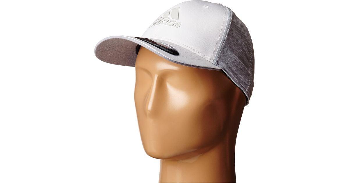b8ef62799a7b6 adidas Originals Lightweight Climacool® Flexfit Hat in White for Men - Lyst