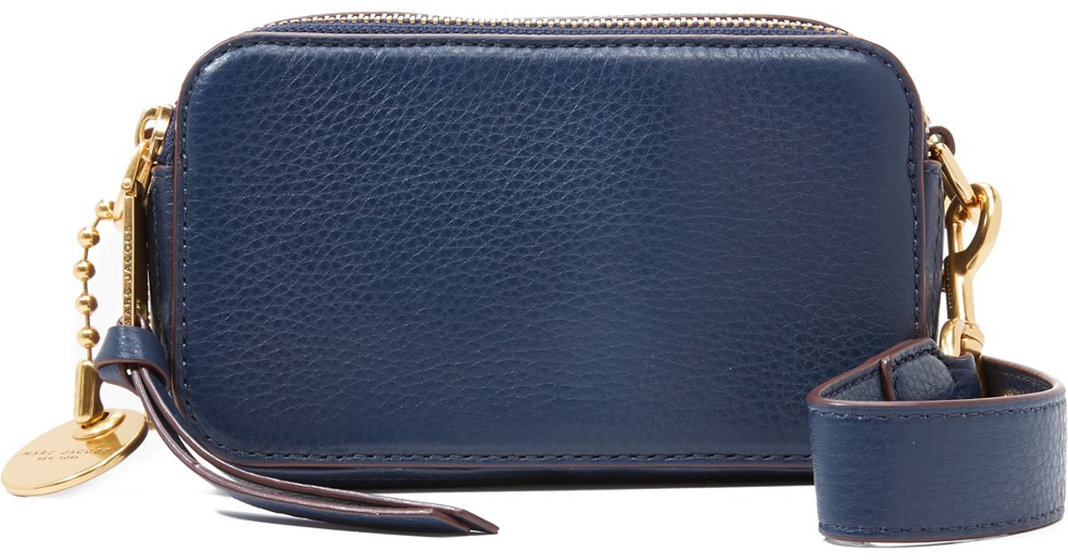 ab532794eb3e Lyst - Marc Jacobs Recruit Camera Bag in Blue