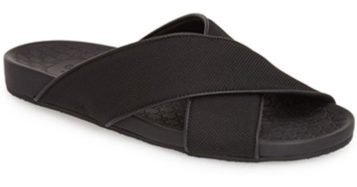 1f7ffc68c Lyst - Gucci  zen  Slide Sandal in Black for Men