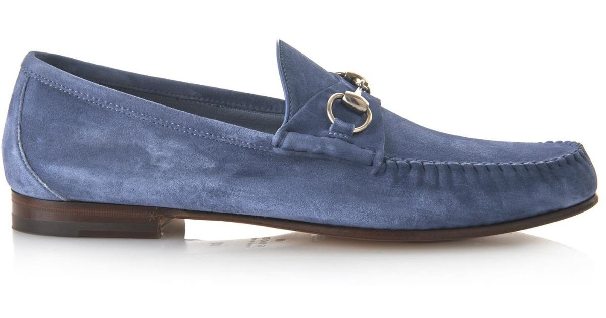 Gucci Loomis Suede Loafers B1oXUG2a
