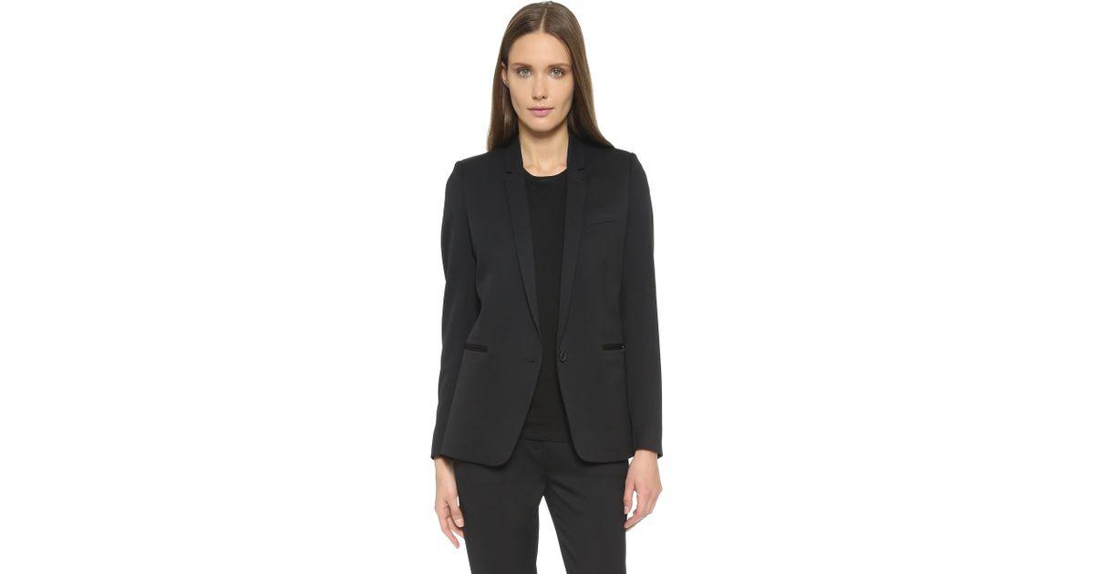 Black Suit Jacket The In Timeless Lyst Kooples roCxedB