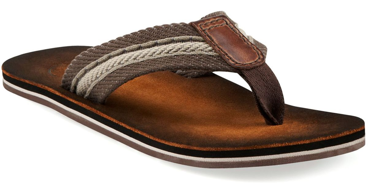 Clarks Brown Sandals For Thong Men Cory dxWEQrCoBe