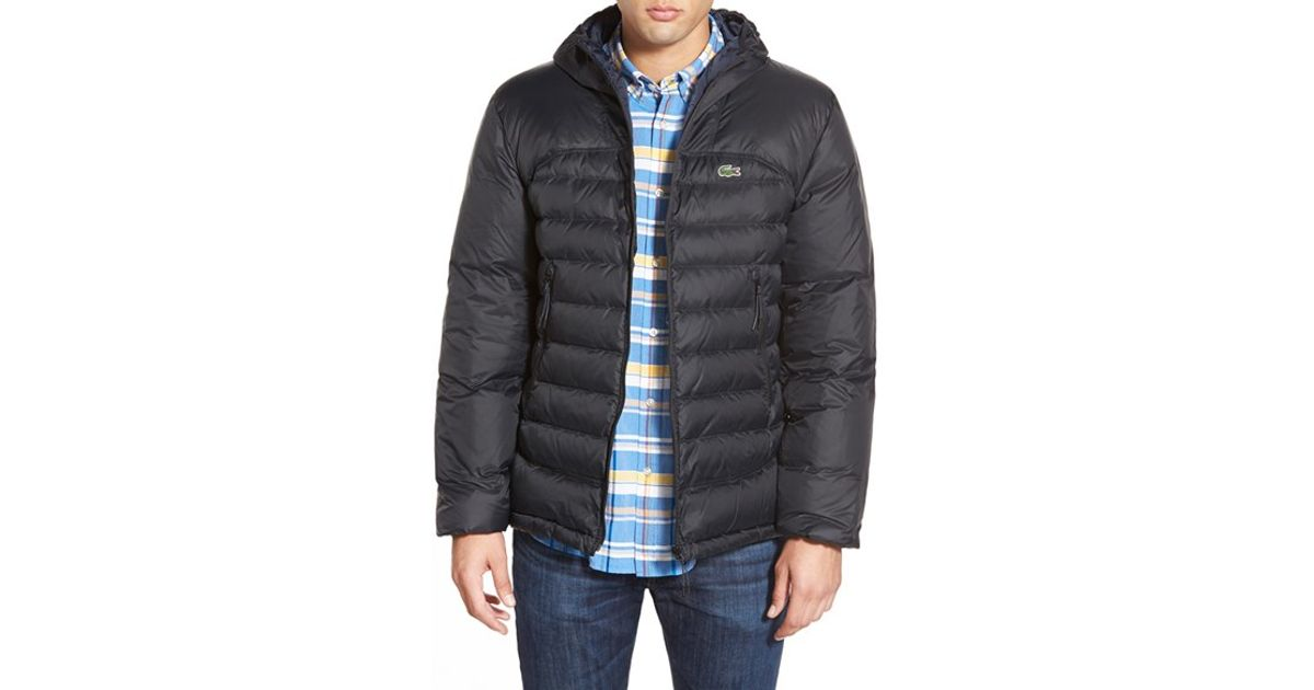 5d9515f1eb141 Lyst - Lacoste Packable Lightweight Down Jacket