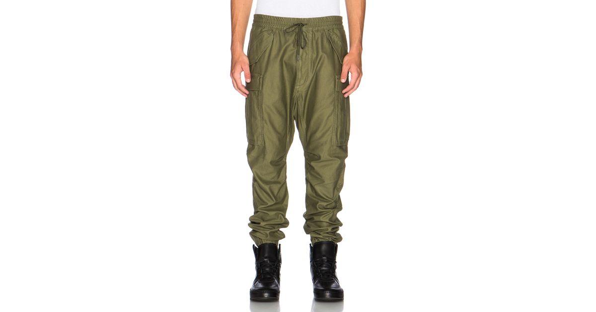 Nlst Men's Cargo Pants in Green | Lyst