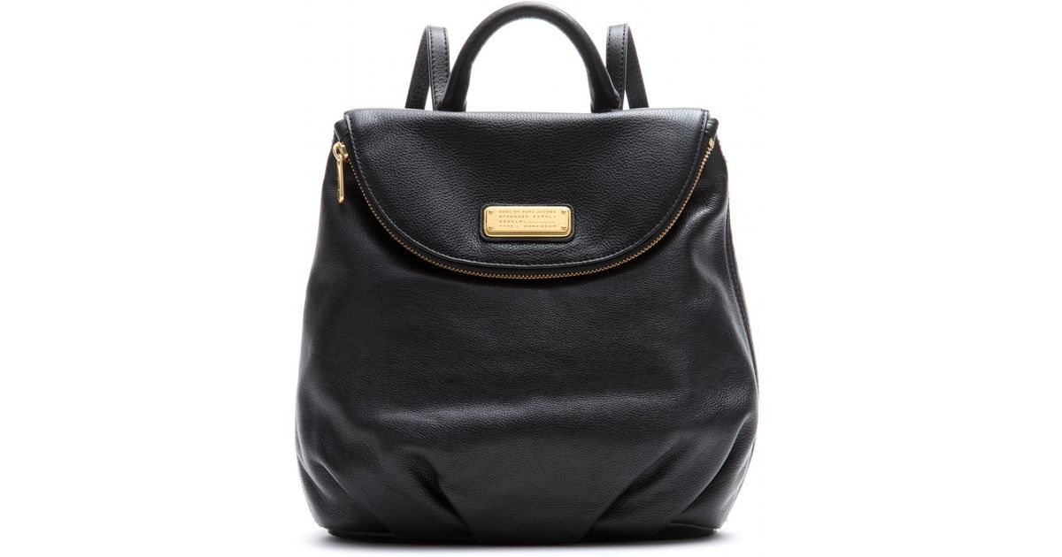 096aec17862 Marc By Marc Jacobs Mariska Leather Backpack in Black - Lyst