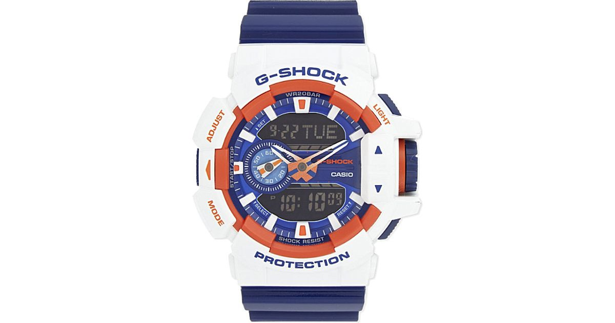 6fed35a595218 G-Shock Ga-400cs-7aer Crazy Rotary Watch in Blue for Men - Lyst