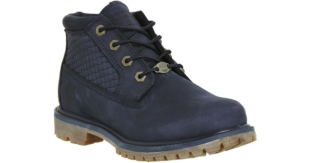 Timberland Nellie Chukka Double Waterproof Boots In Blue