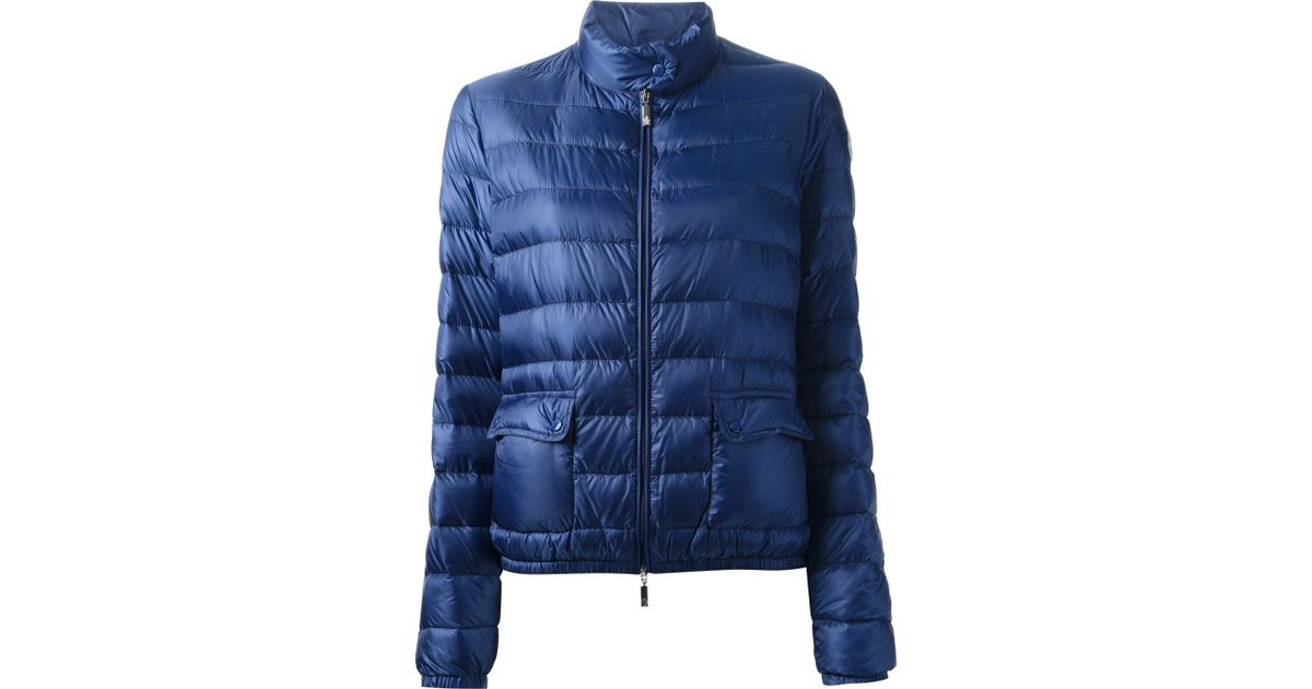 20156f7c53bf Lyst - Moncler Lans Padded Jacket in Blue