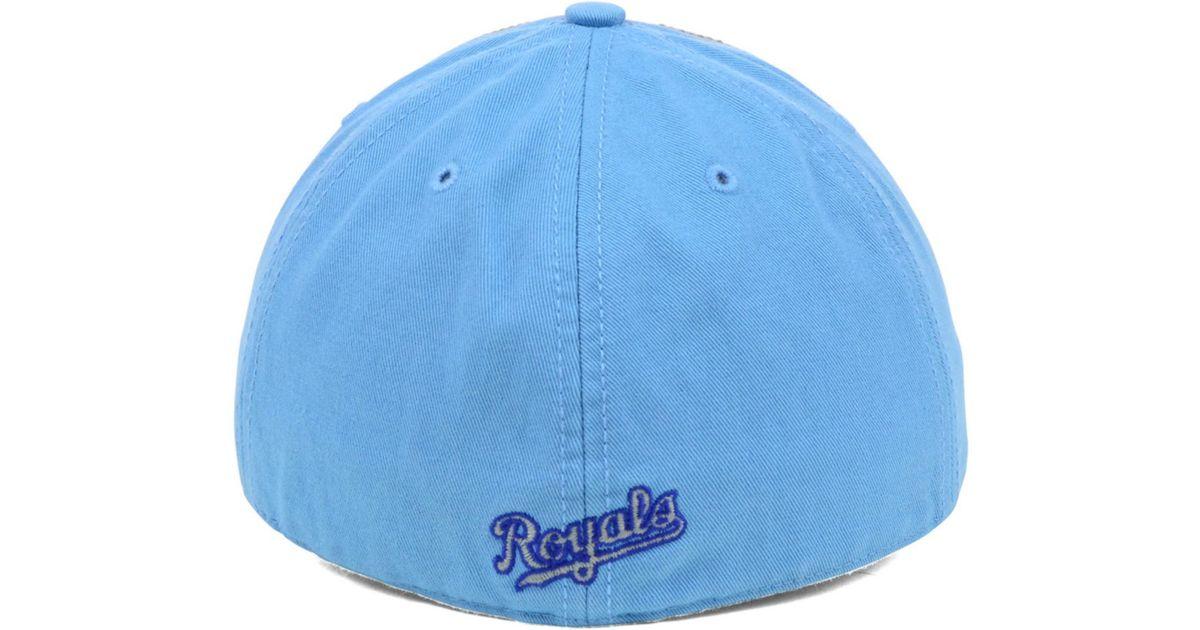 e4ef8efc724ca Lyst - 47 Brand Kansas City Royals Vip Franchise Cap in Blue for Men