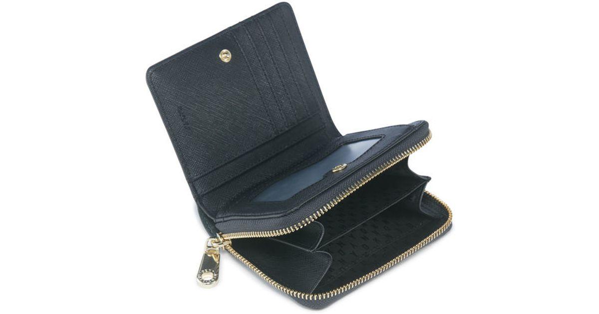 DKNY - Black Signature Canvas Wallet | Luxury Bags |Dkny Wallet