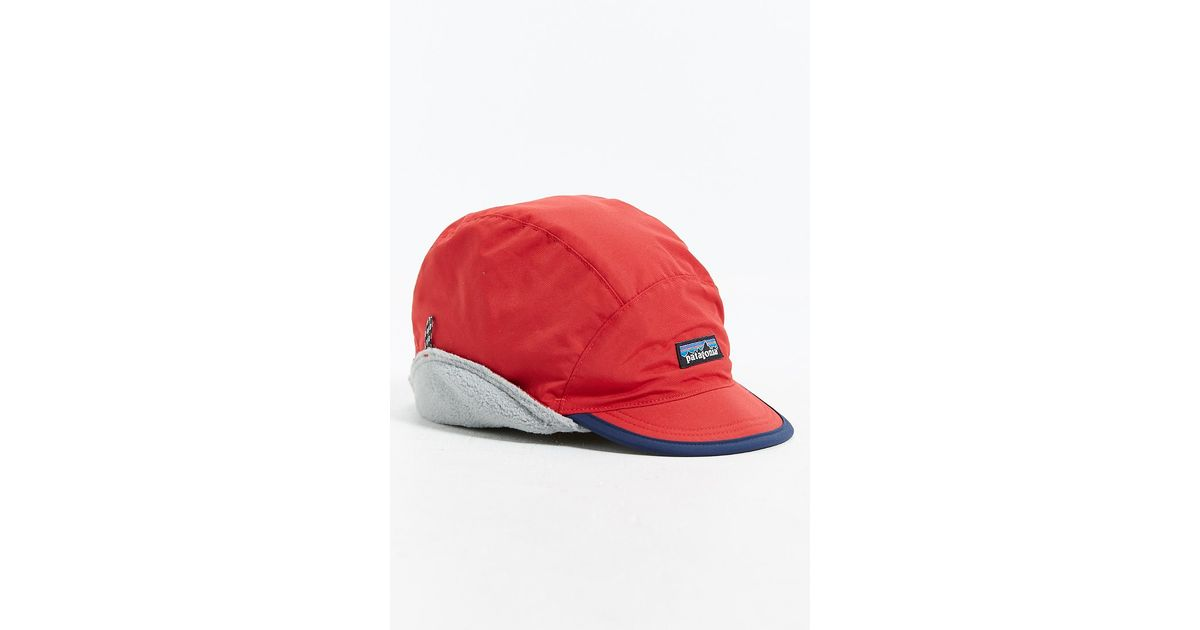 fba07a67d91 Lyst - Patagonia Shelled Synchilla Duckbill Hat in Red for Men