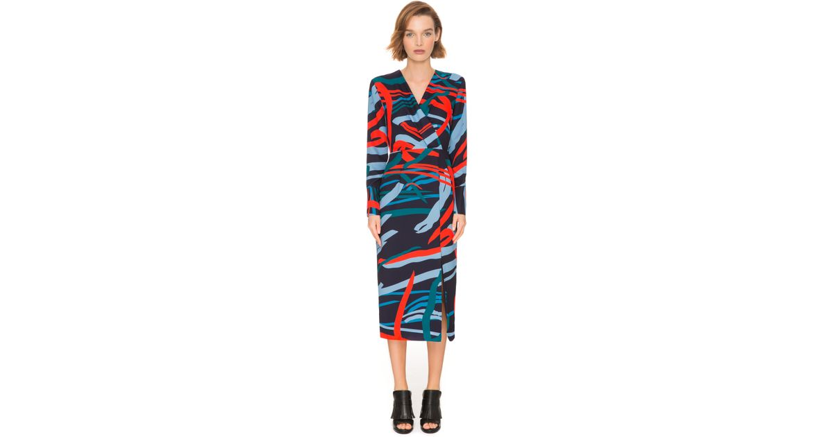 C meo collective bedroom wall long sleeve dress in for C meo bedroom wall dress