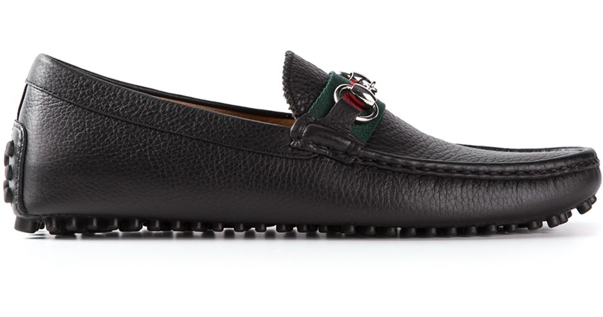 d0a9179d681 Lyst - Gucci Classic Driving Shoes in Black for Men