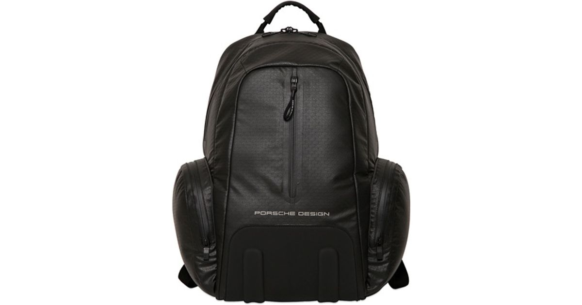 03875b9145 Lyst - Porsche Design Water Resistant Polyester Backpack in Black for Men
