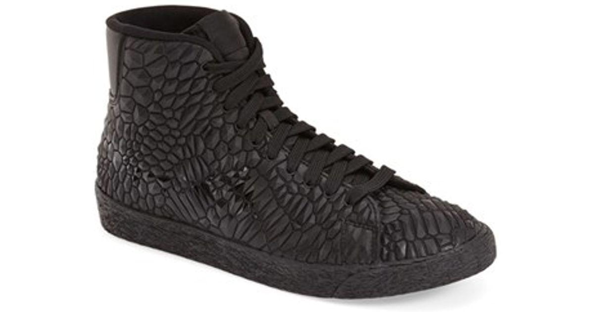f3bd77e43763 Lyst - Nike Roshe One Hi Water-Resistant Sneaker Boots in Black