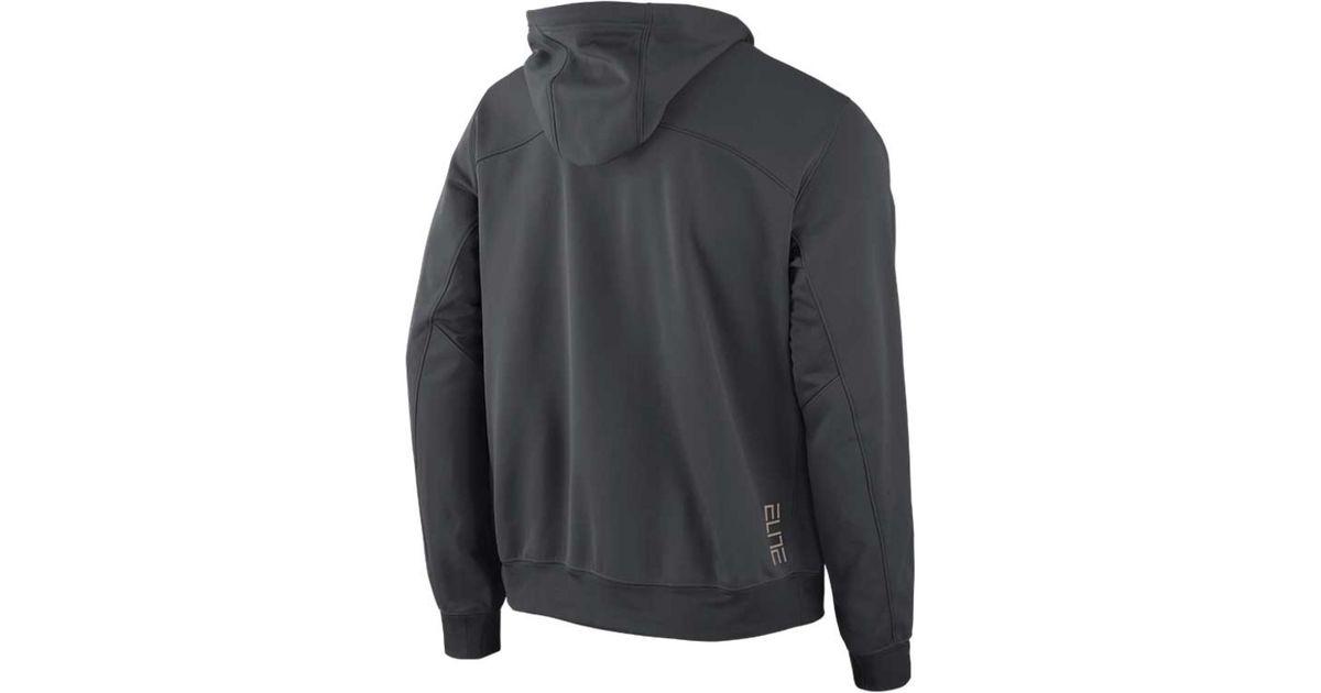 best website d902c eed71 Lyst - Nike Men S Florida Gators Therma-Fit Performance Hoodie in Gray for  Men