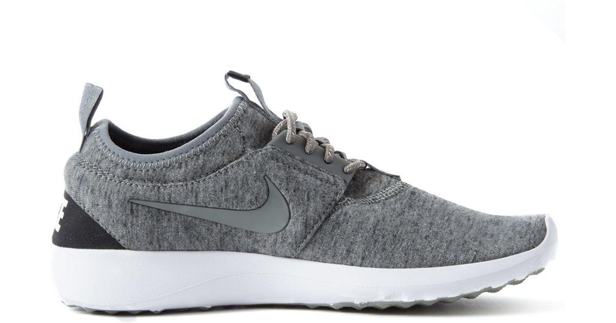 size 40 9994d 9fbb5 nike juvenate tech fleece shoe pinterest nike shoes and nike shoes  lyst nike  grey juvenate fleece trainer in gray