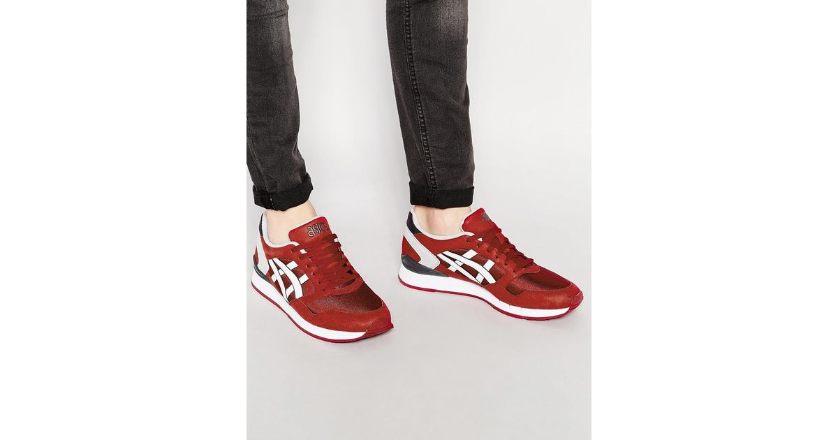 asics atlantis red