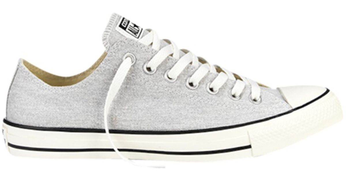 Converse Chuck Taylor All Star Ox Trainers in Gray for Men - Lyst 90d423495