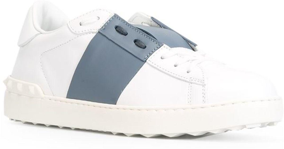 Valentino 'open' Sneakers in White