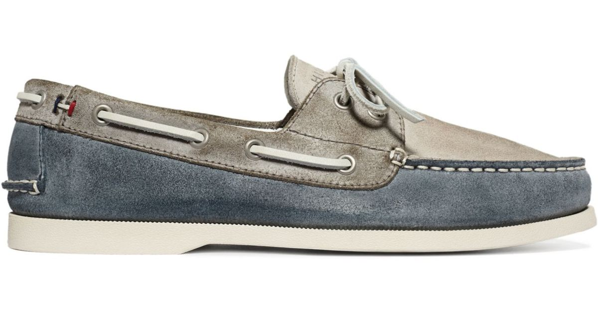 7a059b656d01fe Lyst - Tommy Hilfiger Bowman Boat Shoes in Blue for Men