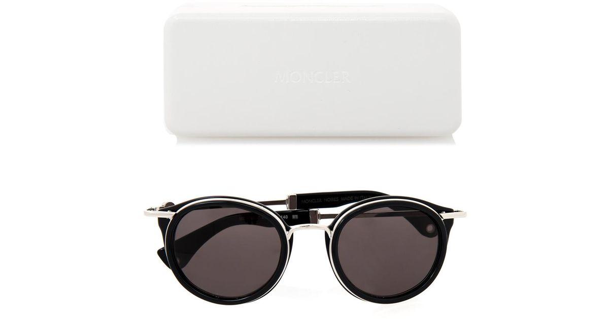 moncler black sunglasses