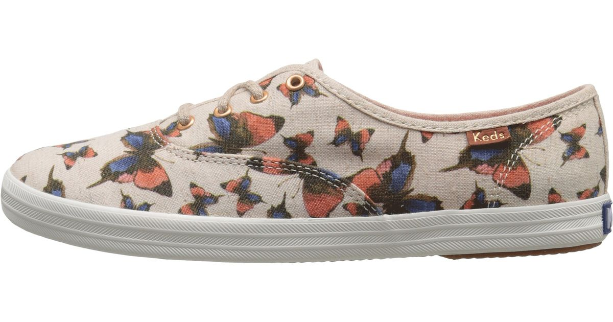 1568e77883128 Keds Natural Champion Butterfly