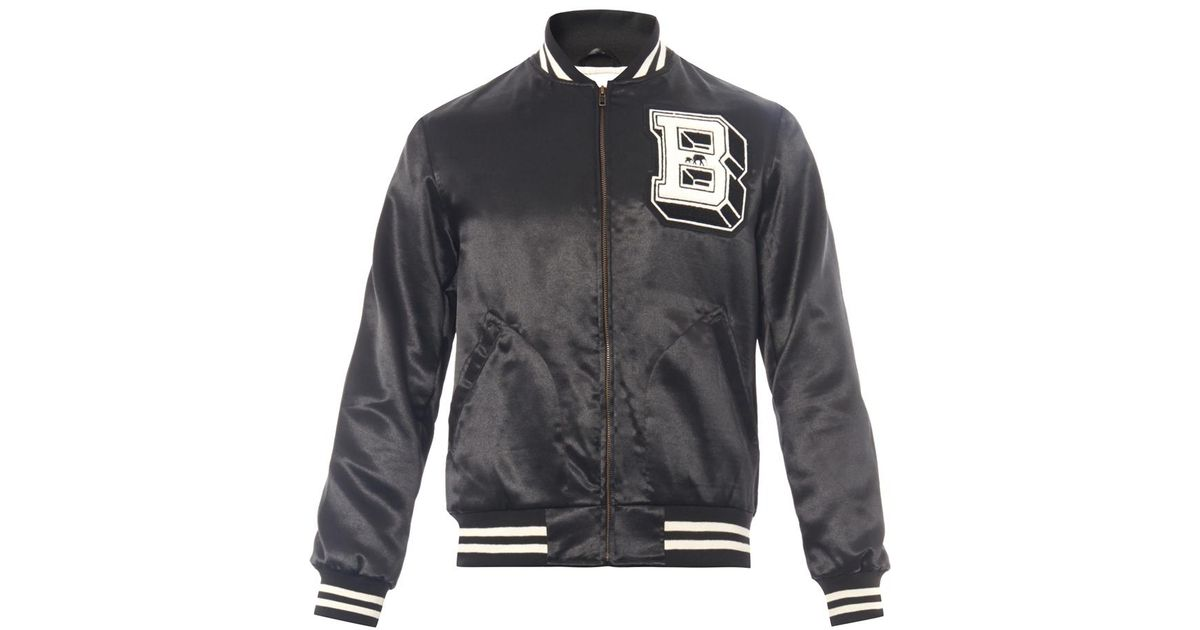 ab8034005 The Brooklyn Circus Black Classic Varsity Jacket for men