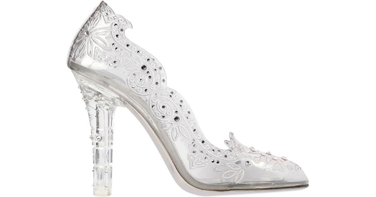 3e023b186e0 Dolce & Gabbana Multicolor 105mm Cinderella Swarovski Pumps