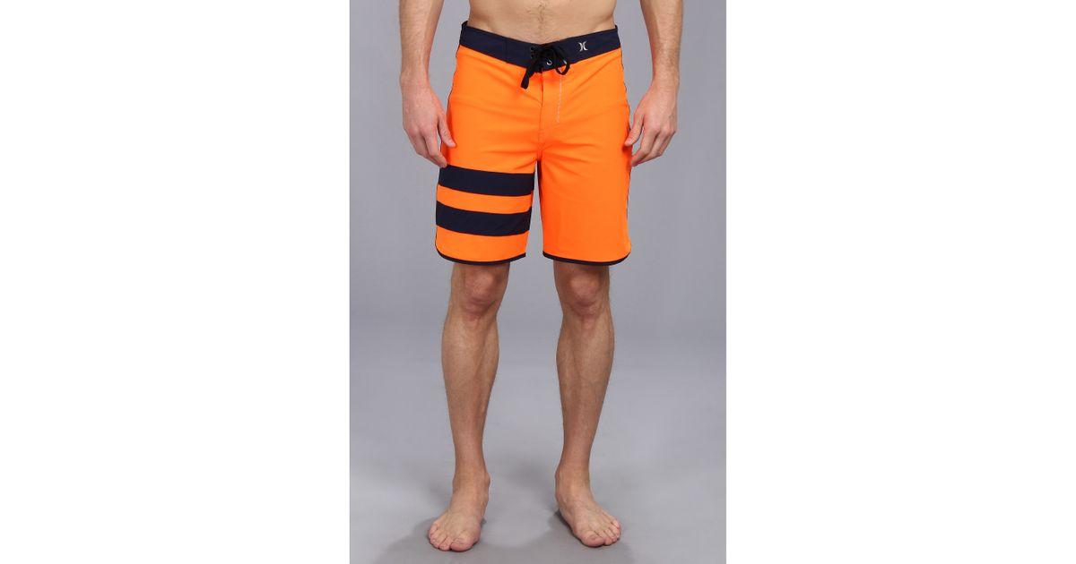 Lyst - Hurley Phantom 60 Block Party Boardshort in Orange for Men c90847673fa