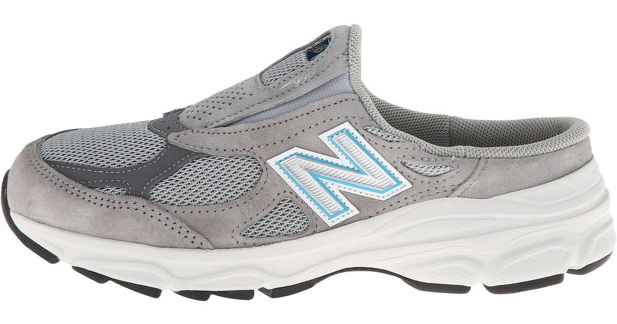 size 40 03808 8cb15 New Balance 990v3 Slip On in Gray - Lyst