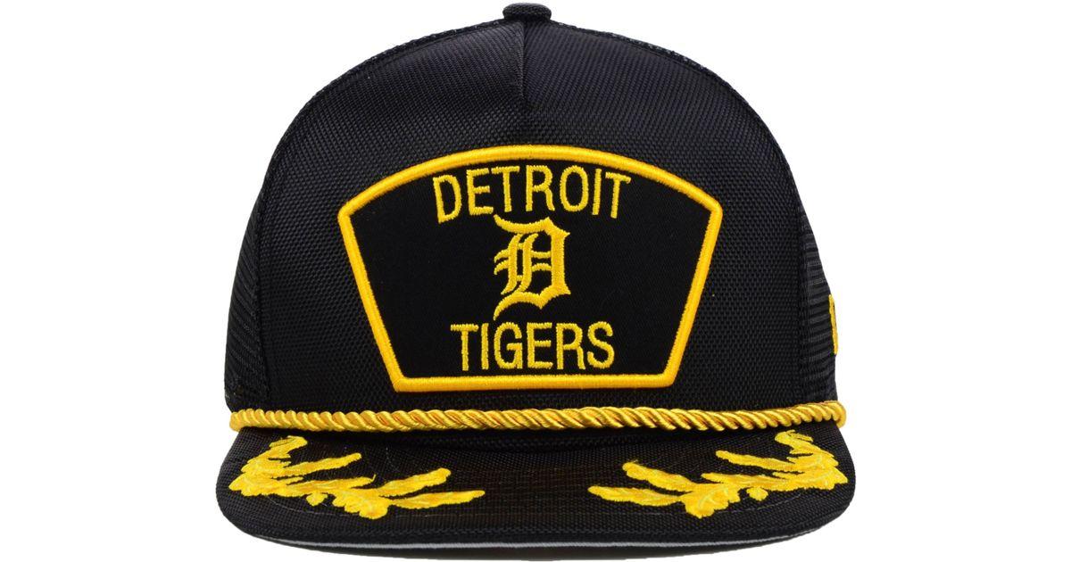 f643387b229 Lyst - KTZ Detroit Tigers Mlb 9fifty Snapback Cap in Black for Men