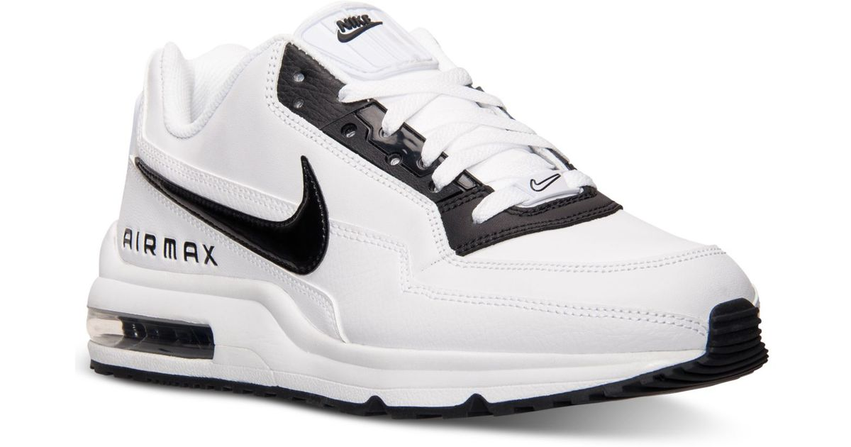 huge discount d6901 7cd99 Lyst - Nike MenS Air Max Ltd 3 Running Sneakers From Finish Line in White  for Men