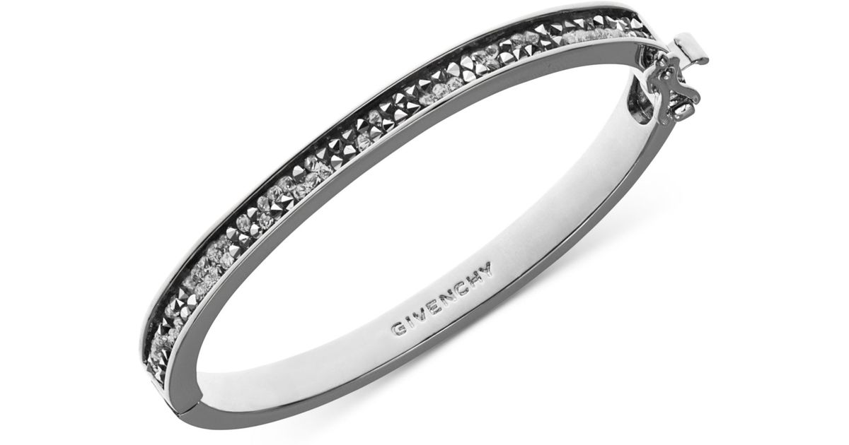 bangle products d sevilla silver classic bangles bracelet hsn hinged clasp