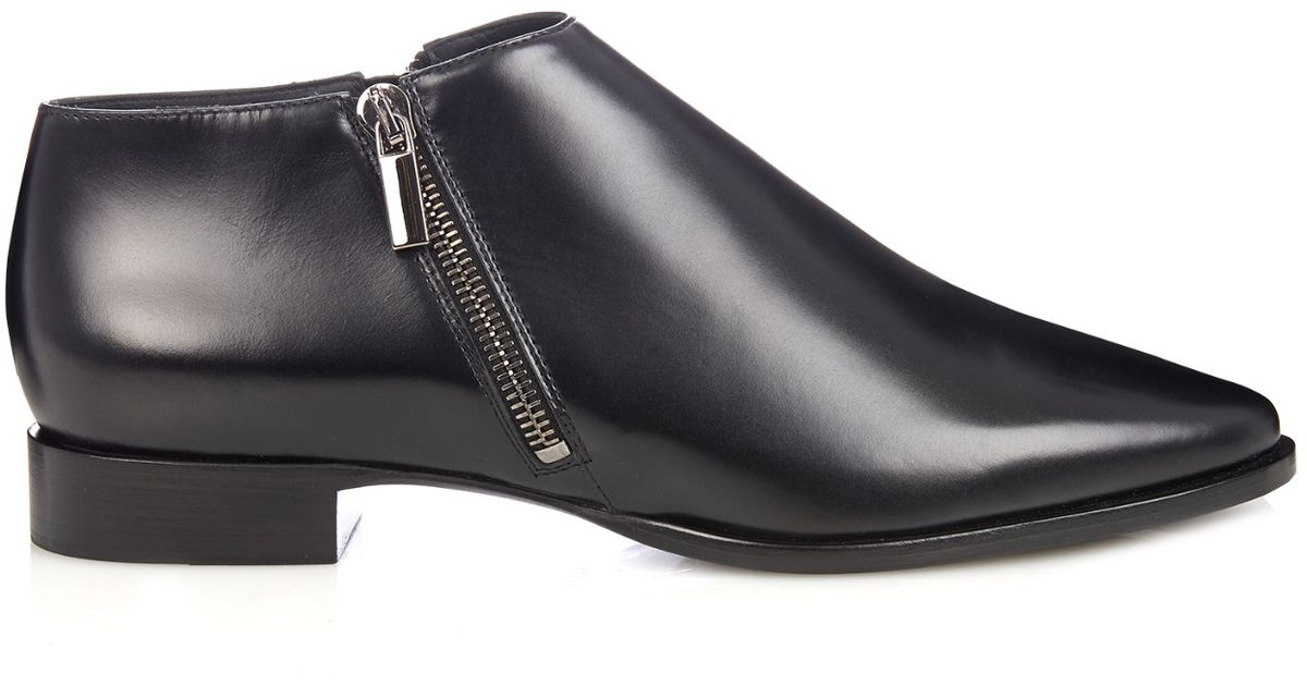 Max Mara Leather Boots lzjOHjcYi