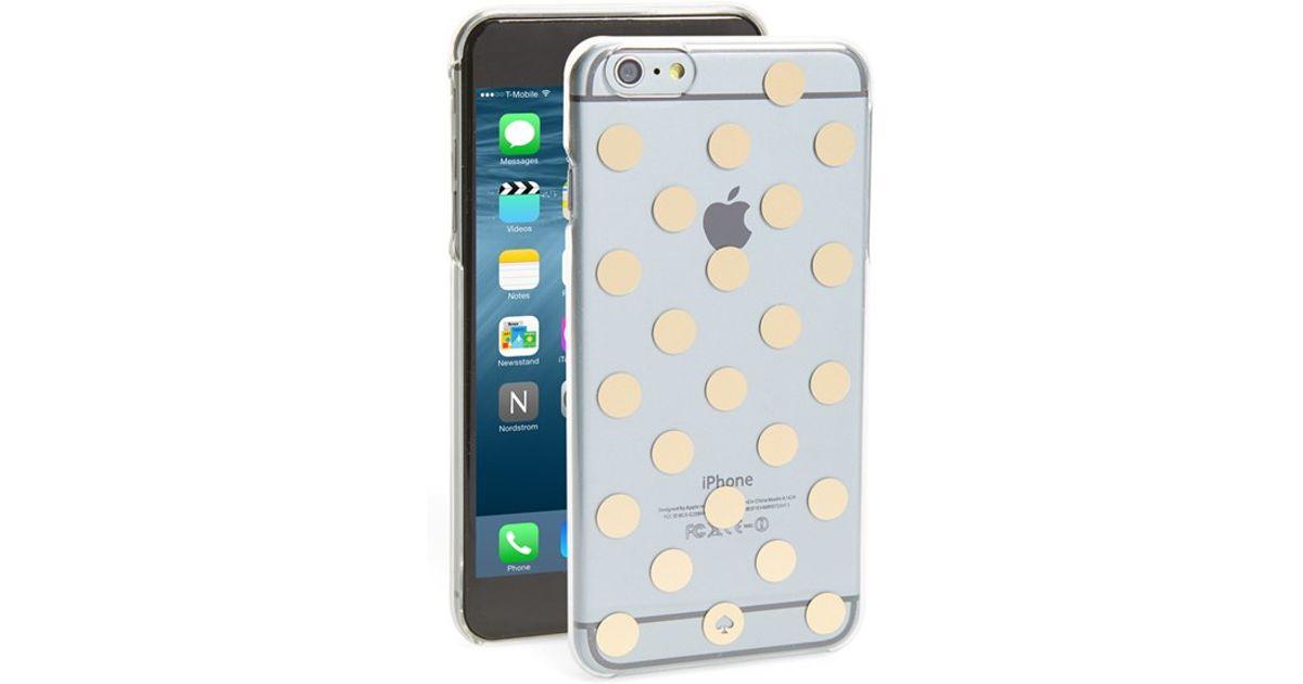 release date 2fdae f7620 kate spade new york 'le Pavilion' Iphone 6 Plus & 6s Plus Case - Metallic
