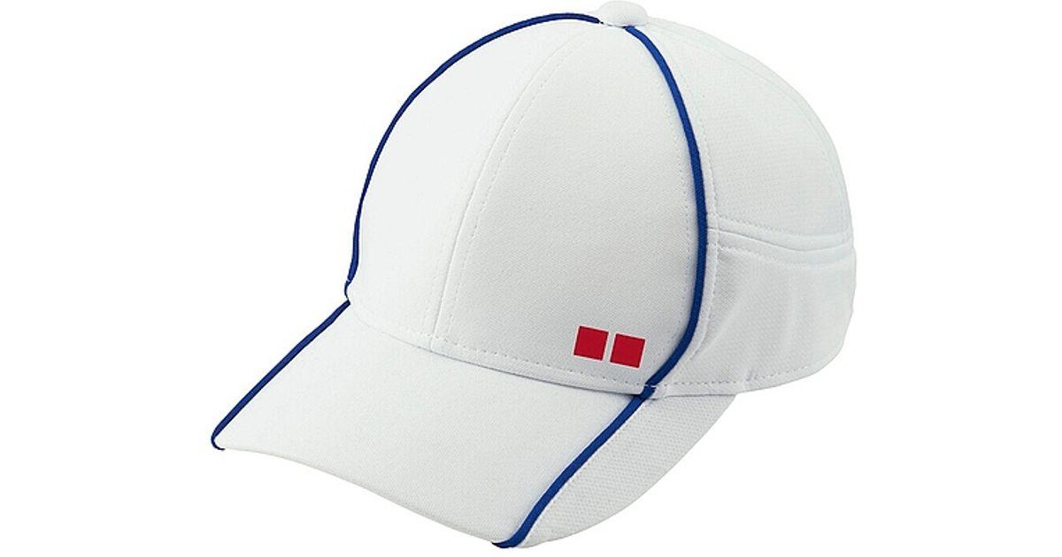 Uniqlo Tennis Cap in Blue for Men - Lyst fd0c7545b315